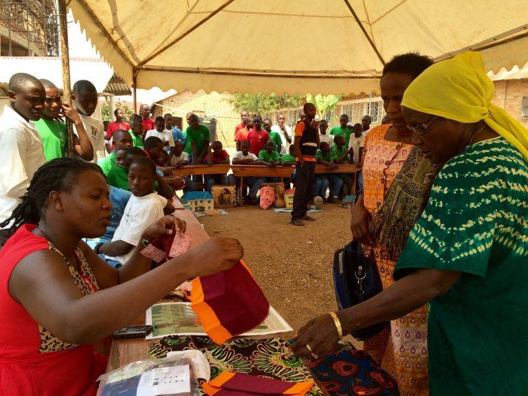 MHM team at Ntungamo College